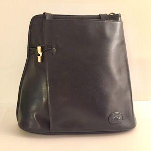 Longchamp Leather Rousseau Shoulder Bag France